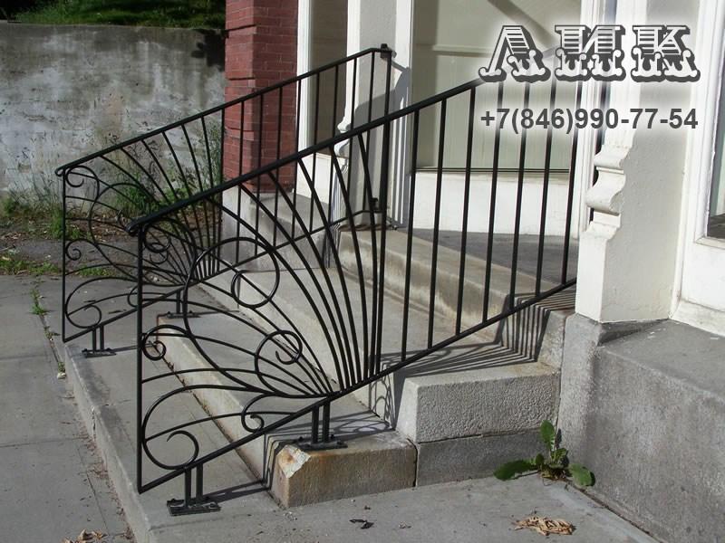 Перила для лестниц - купить поручни для лестниц в Москве